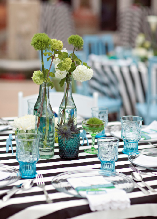 blue-and-green-wedding