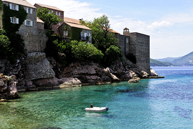 Montenegro's Aman Sveti Stefan, located along the Adriatic Sea, is just one possible wedding destination that lies off the beaten path.