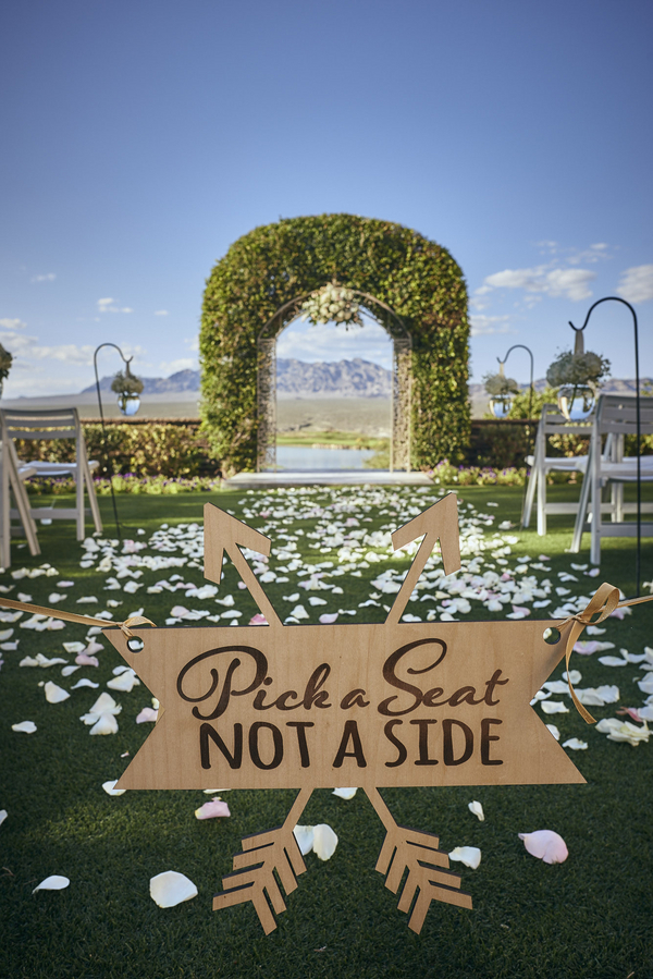 golf resort wedding