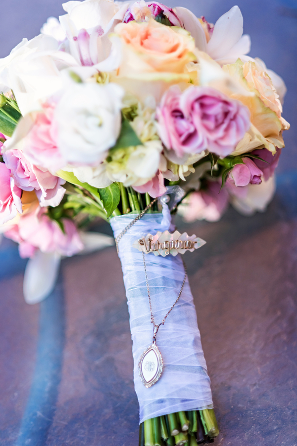 romantic rose gold wedding