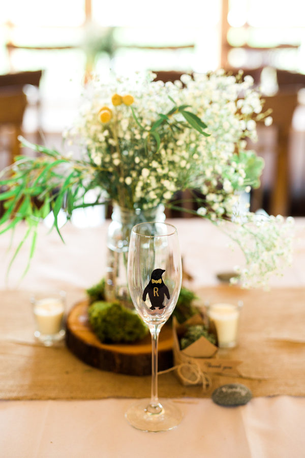 spring mountainside wedding