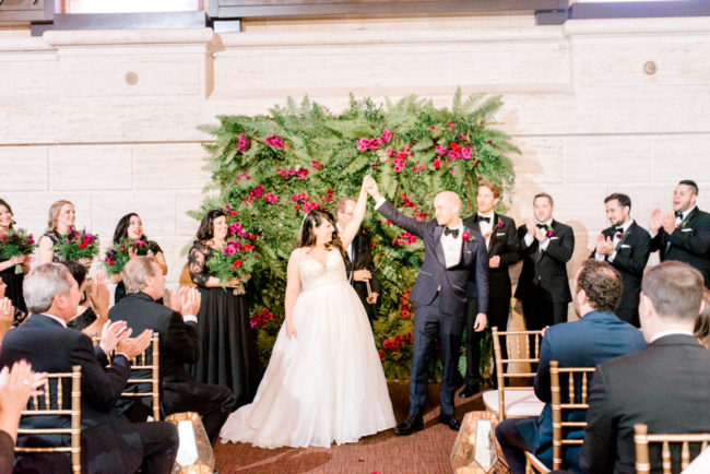 art deco Philadelphia wedding