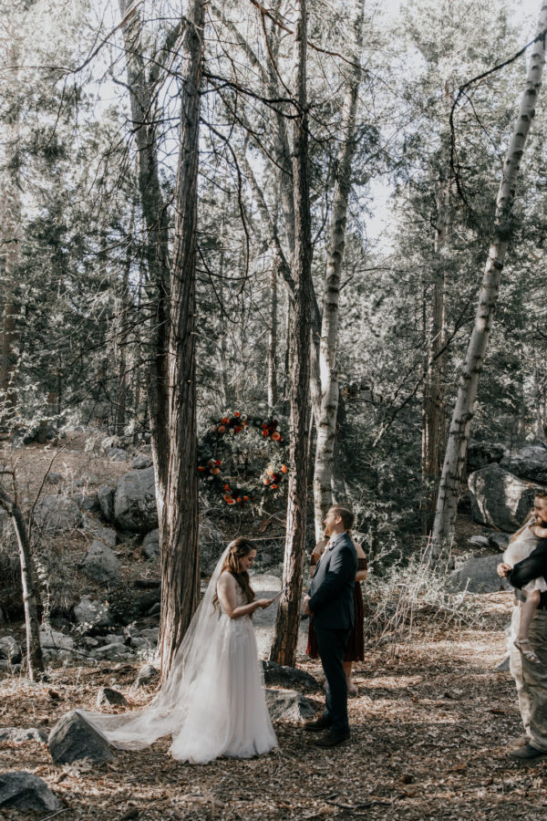 mountain elopement wedding