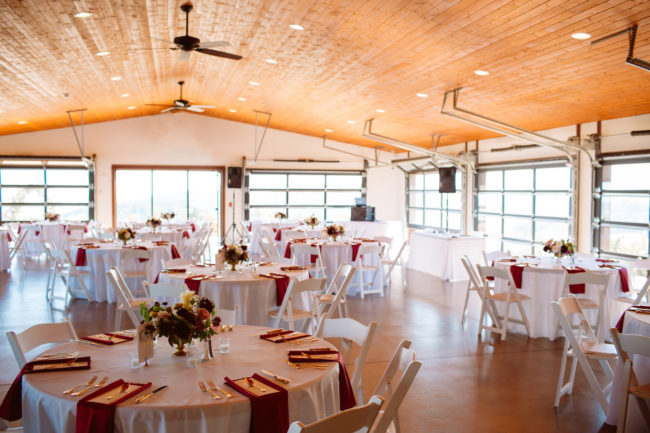 romantic winery wedding