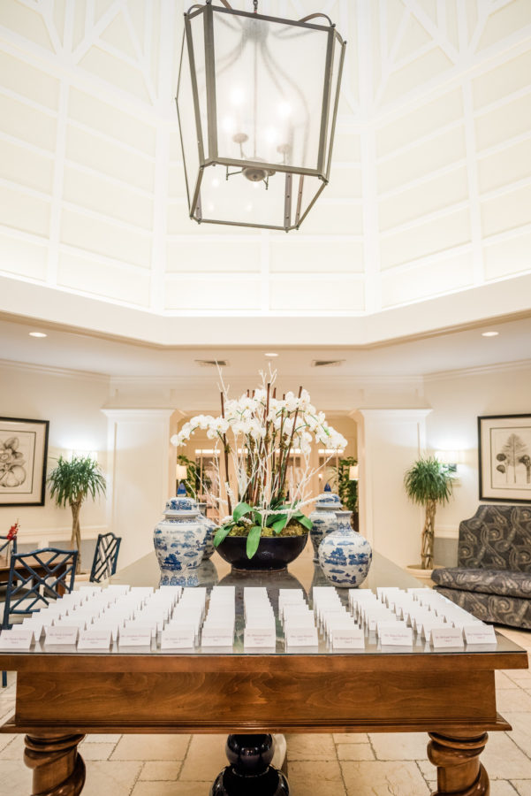 Palm Beach brunch wedding