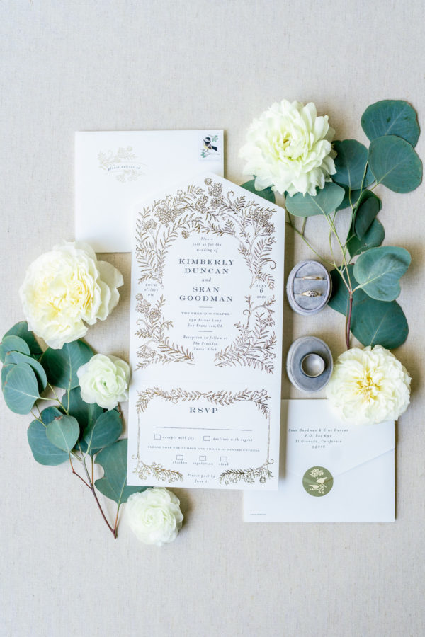 intimate garden wedding
