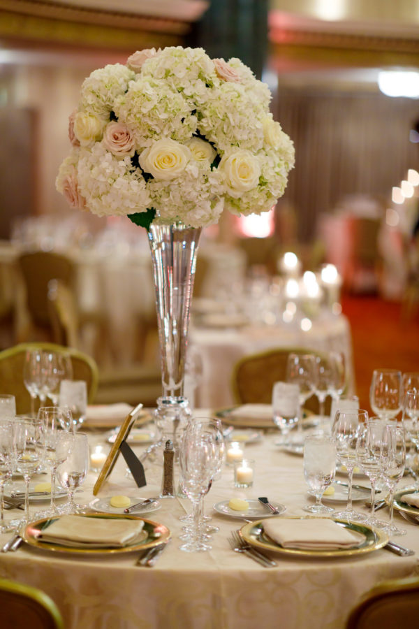 winter hotel wedding