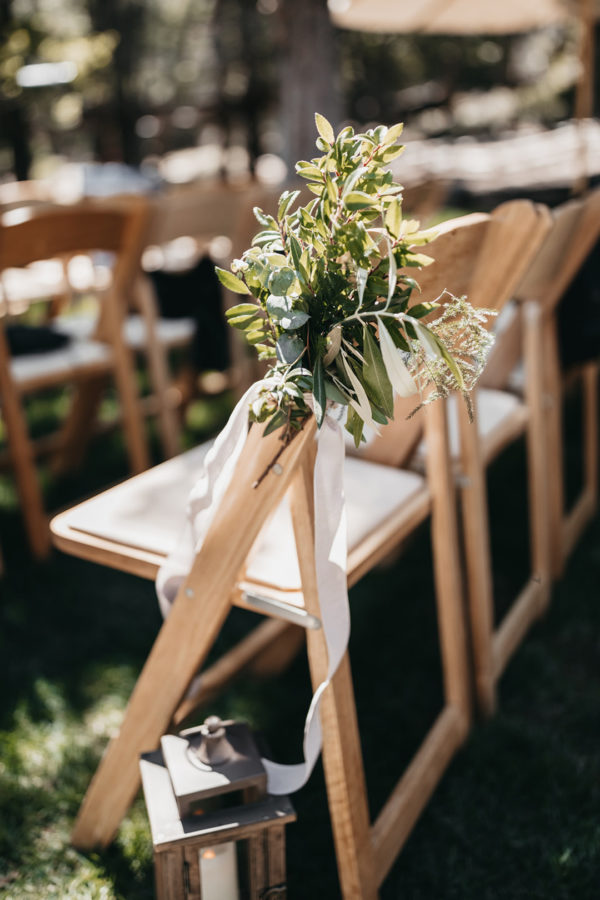 modern mountain wedding
