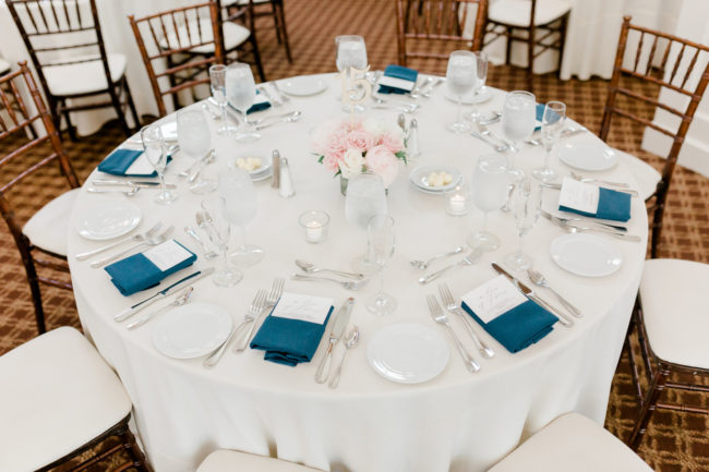 summer golf club wedding