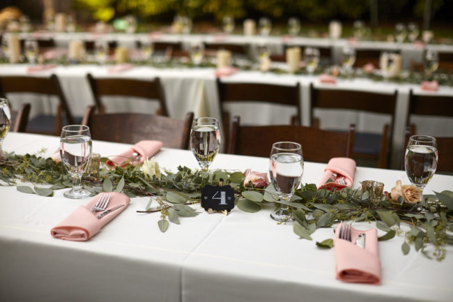 whimsical forest wedding