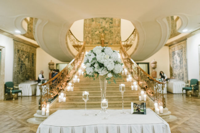 elegant modern wedding