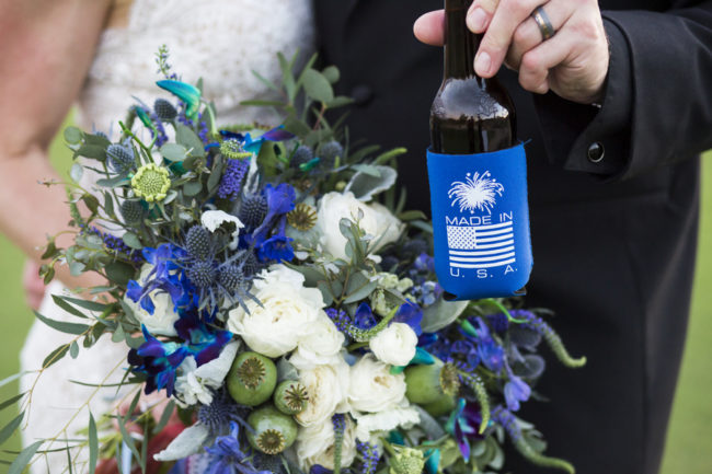 patriotic Ritz-Carlton wedding