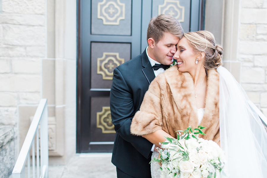gold New Years Eve wedding