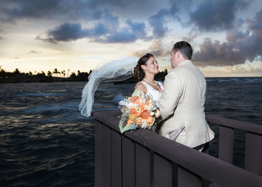 tropical paradise wedding