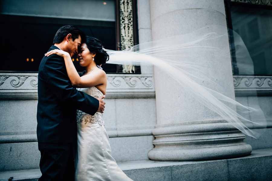 modern San Francisco wedding