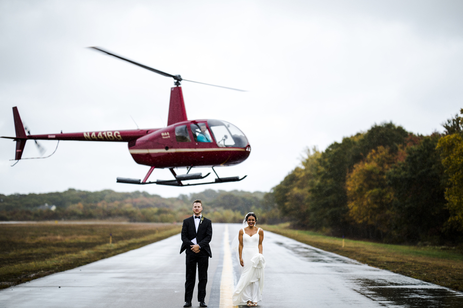 aviation-inspired wedding