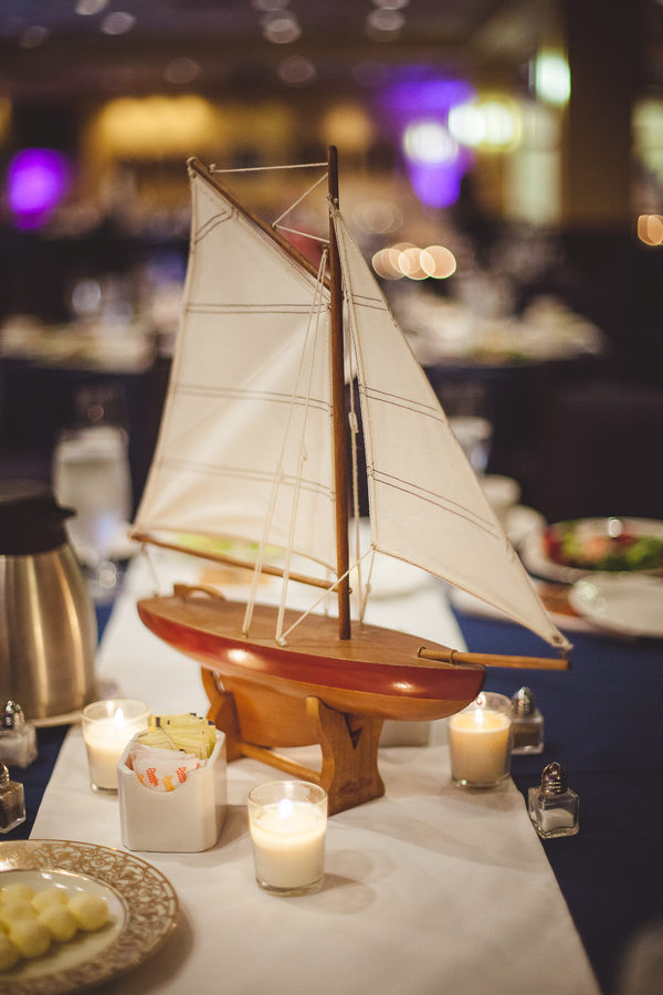 nautical Navy wedding