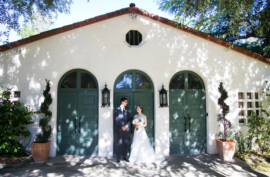 spring California wedding