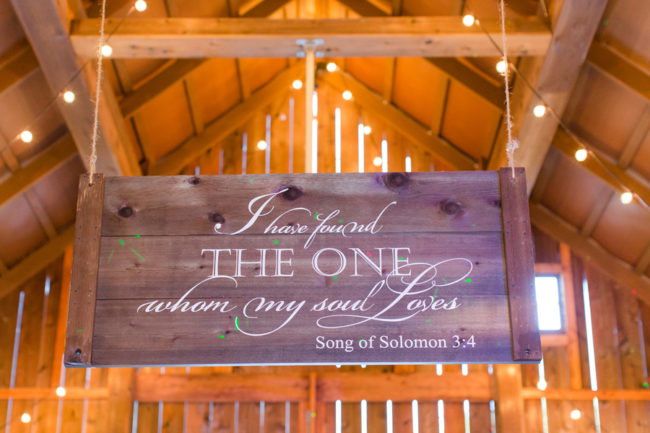 romantic barn wedding