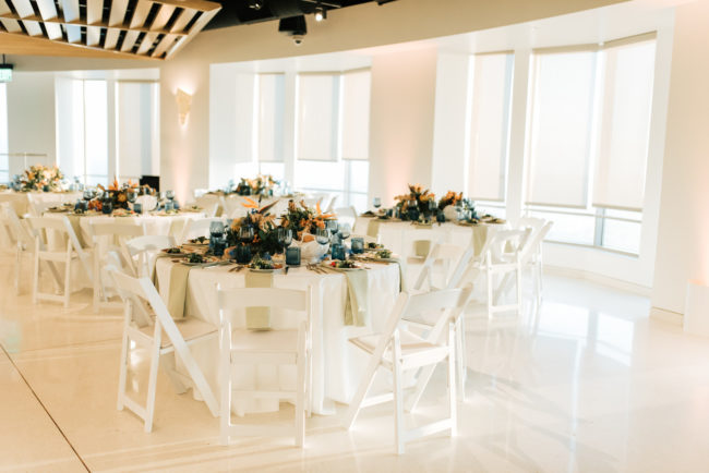 modern urban wedding