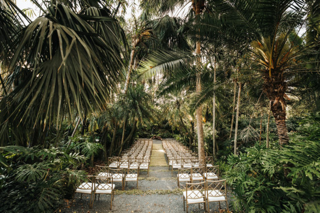 elegant tropical wedding