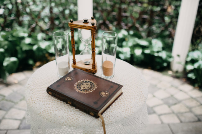 speak easy garden wedding