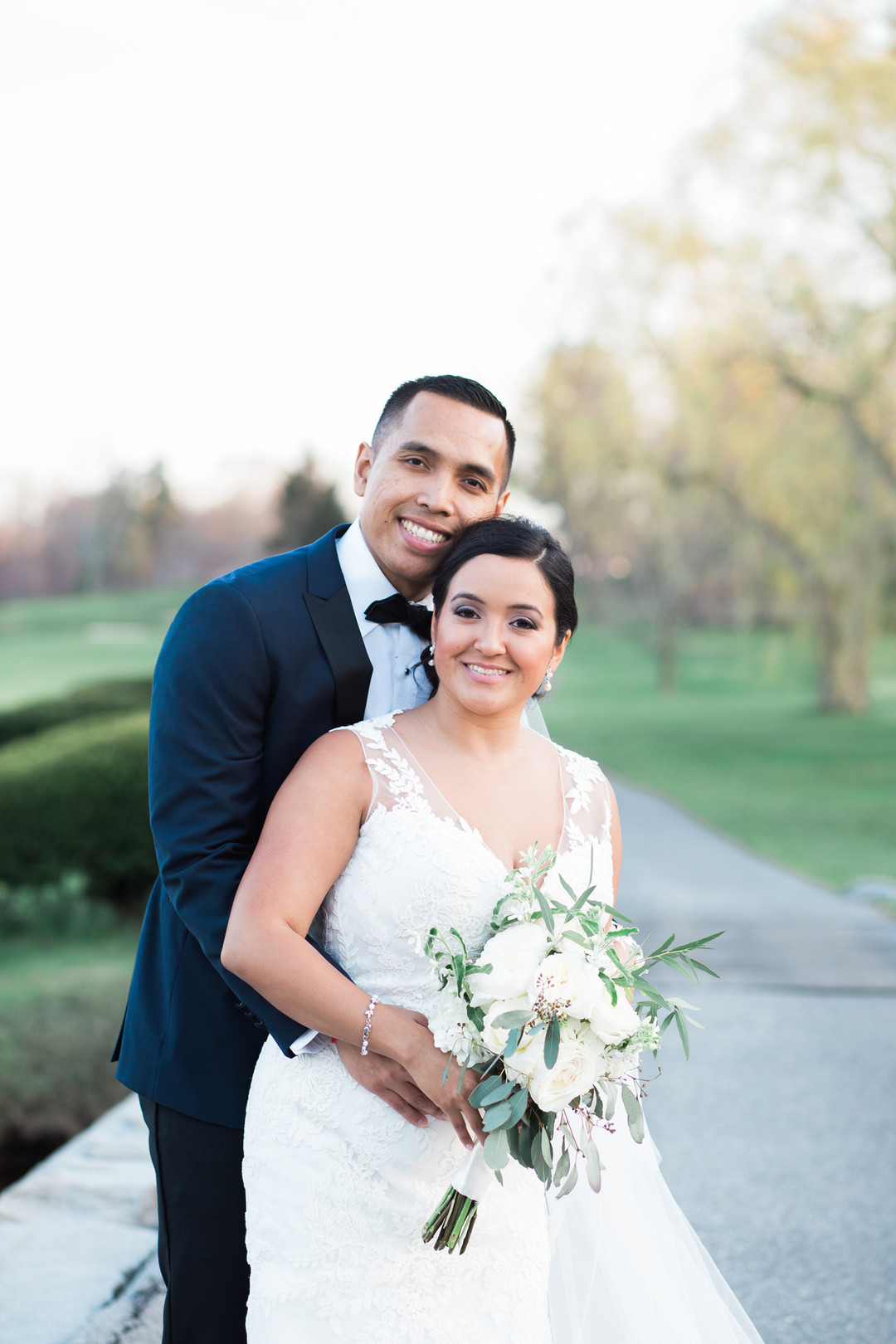spring country club wedding