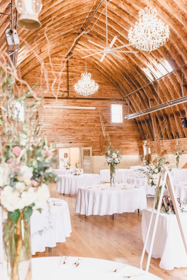 rustic Indiana wedding