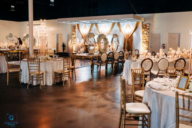 luxury ballroom wedding