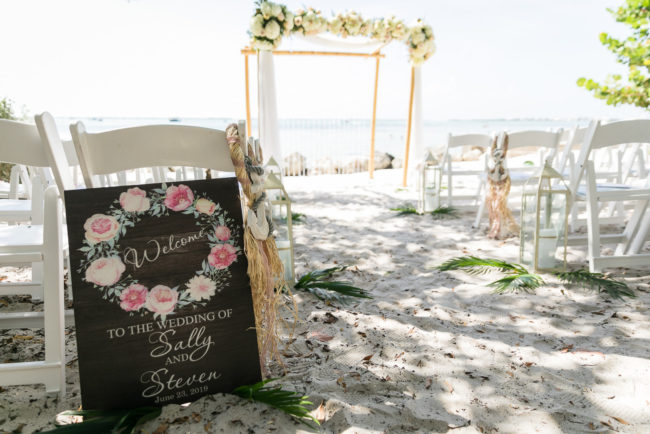 luxury beach wedding