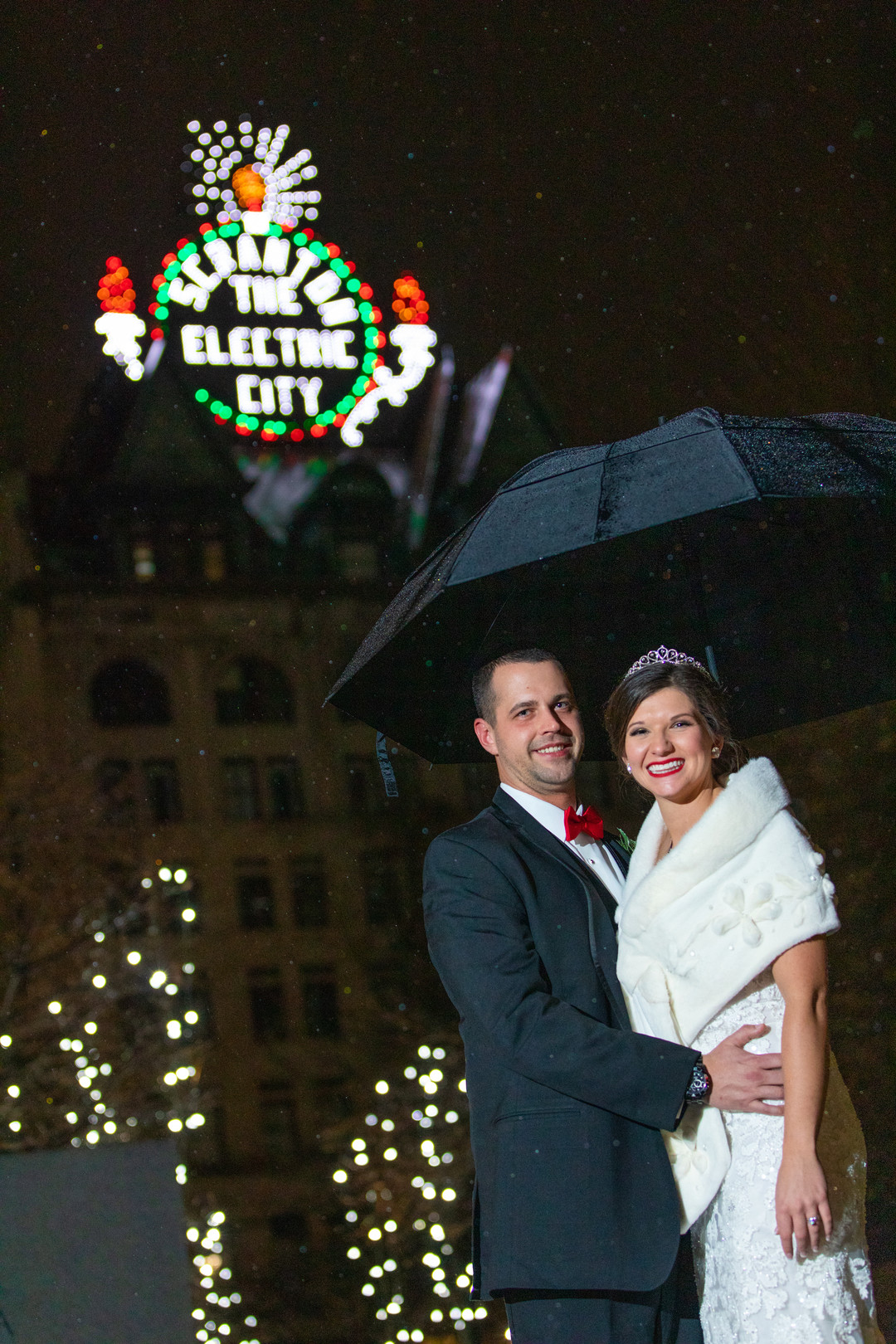 winter Pennsylvania wedding