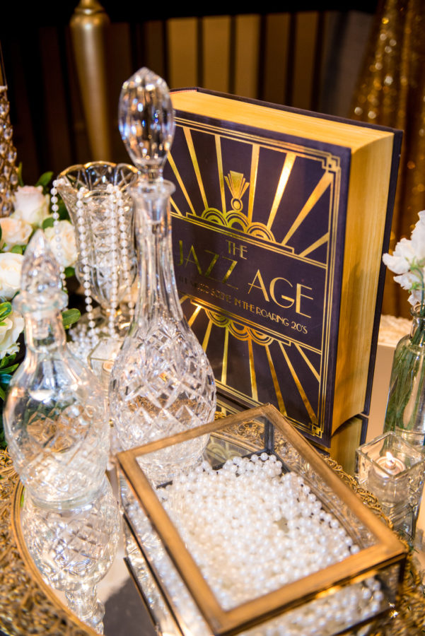 vintage Gatsby wedding
