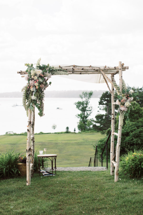 modern coastal wedding